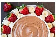 chocolate fruit dip.