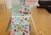 Card in a box ideas