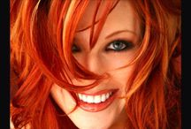 Tribute to beautiful redheads  / This is for all the redheads out there... / by Nancy Abb