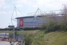 Football Grounds Midlands England