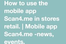Mobile app Scan4.me -news, events. / Mobile app Scan4.me -news, events.