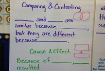 Language Arts: Compare/Contrast / This boards contains pins about the reading strategy, Compare/Contrast.