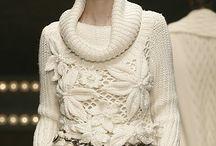Crochet  Otoño - Invierno / Tejidos vestidos , chombas