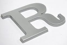 The Letter R / by Becca .