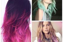 raquel / cabelos colorido