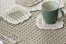 Crochet Placemats & coasters
