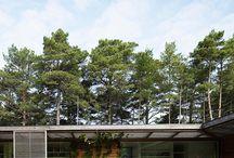 Villa Bergman- Werntoft / Enplansvilla till en trebarnsfamilj i Ljunghusen söder om Malmö. Nominerat till Arkitekturs Debutpris 2007. Johan Sundberg Arkitektur i samarbete med Laine Montelin, Tyréns. 2005-2006.