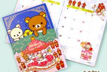 Kawaii Stationery / The cutest character notepads, stickers, calendars and more.