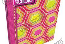 Pasta Argolla Solid Colors / Línea Escolar Primavera Regresa a Clases con TODO