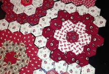 Quilts - hexagon
