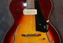 Guild Electric Guitars / 1963 Guild x50 Cordoba