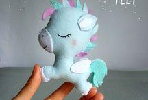 Cumple  3 años unicornios