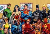 The JLA / by popculthq