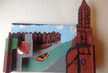 Portfolio leerjaar 1 / Mijn werkstukken van de 1ste klas van de middelbare school