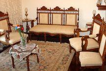 Σαλόνια / Ξυλόγλυπτα σαλόνια φιλοτεχνημένα από τον Γιώργο Παττέ | www.pattes.gr