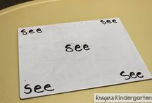 writing words and sentences