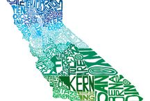 Locations: California - My Golden State / The Left Coast...Land of Fruit 'n' Nuts...Hollyweird...Lettuceland..wonders, warts and all, my California! / by Sharon Shannon