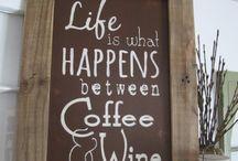 Vin kaffe citater