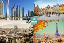 Prepare for city break / It's all about a perfect city break and how to organize it.