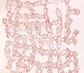 NYILYARI TJAPANGATI / Dates: 1965 Language: Pintupi Community: Région de Papunya Art : #Aboriginal Region: Central Desert State: Northern Territory