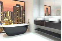 Big-city style bathroom