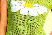 Вязание крючком: топы, платья и др. / Одежда, связанная крючком. Платья, юбки, топы и др. Филейное вязание