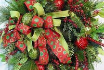 Christmas Wreaths on Sale for Christmas / Save on Beautiful Designer Christmas Wreaths for your door... by Nancy Alexander of Ladybug Wreaths! http://www.LadybugWreaths.com / by Ladybug Wreaths, Nancy Alexander