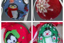 xmas easy crafts / easy wuick economic reuse xmas crafts