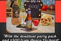 Haunted Cider Celebration / Halloween with Angry Orchard & Spirit Halloween