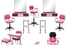 Muebles Para Esteticas y Salones de Belleza / Muebles Para Esteticas y Salones de Belleza en México