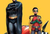 Batman, Homem Aranha e outros