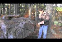 Cement boulders