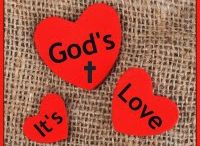 Sandra's Ark - It's God's Love / Sunday Series on blog about Bible Verses around God's Love