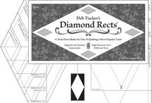 Quilting: Diamond Rects