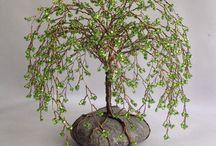 Création arbre pierres