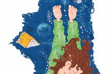illustrazioni per bambini / illustrazioni per bambini,per libri e spazi bimbi. http://www.silviagaudenzi.it/#!bambini-decorazioni-camerette-/cczw