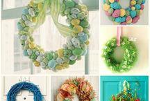 Wielkanocne dekoracje / Wielkanocne inspiracje na dekoracje | Easter inspirations for decor