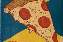 Pizza Art / pizza love