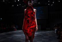 """Art Show""""Birth2"""" / 2009 9.20 /  ファッションショー形式のアートショー """"Birth2"""" / 表参道ヒルズスペースO  http://www.emigre.jp/project/index.html"""