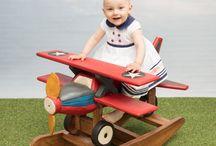 Drewniane bujaki i meble dla dzieci | Wooden toys andfurnitures for children