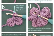 Crochet flor