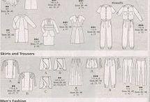 burda pattern page's