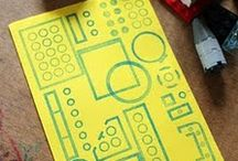 STAMPing with kids