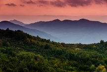Appennino mountains