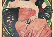Alphonse Mucha (1860 -1939) / Czech Art.