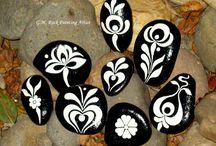 Beschilderde stenen