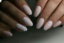 Nails зима