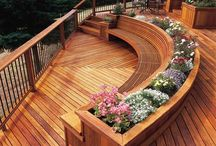 outside: deck + railings / by alex t