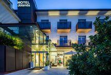Visita Marano Lagunare, parti dall' hotel Jolanda ristorante Jolive / Visita la fantastica laguna di Marano, luogo di partenza? L'accogliente hotel e le squisitezze del nostro ristorante.