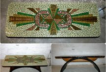 Mosaic design tables / Mosaic design tables made by Rekredenc Mosaic & Design